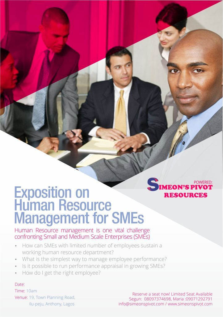 human resource management in smes Advantage, whereas human resource management (hrm) should play the leading role as locomotive for small and medium size enterprises (smes) in order to reduce the challenges and problems they face.