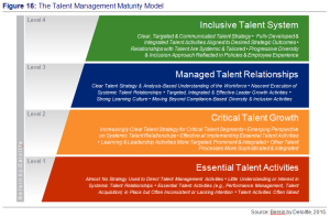 Figure 16 - The Talent Management Model - Sources by Bersin by Deloitte, 2016.